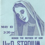Marian Day to Honor the Mother of God, 1931-1965