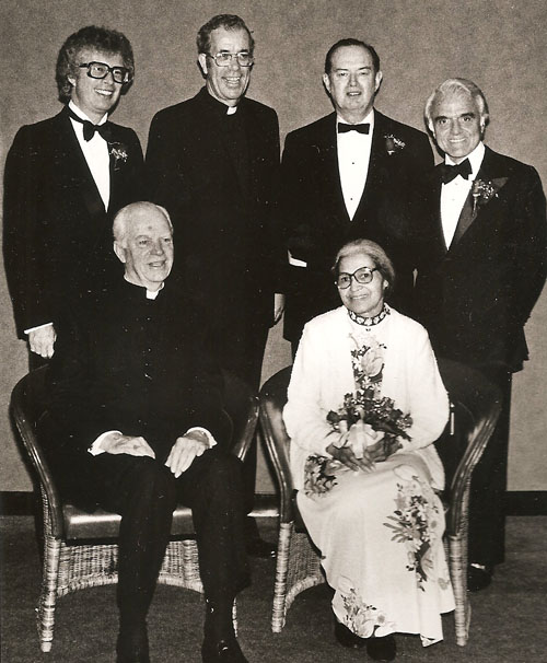 1981 President's Cabinet Award from the University of Detroit