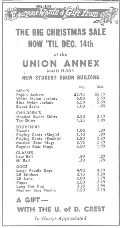 Varsity News Dec. 4, 1956